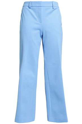 EMILIO PUCCI Cotton and linen-blend culottes