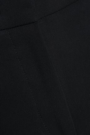 EMILIO PUCCI Cropped silk-crepe slim-leg pants