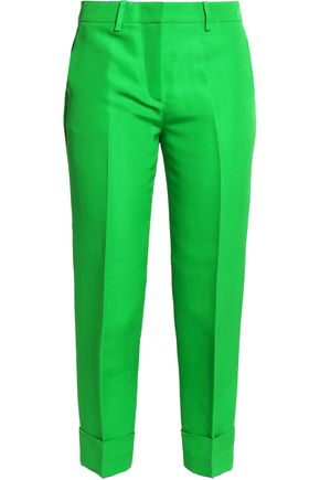 EMILIO PUCCI Silk slim-fit pants