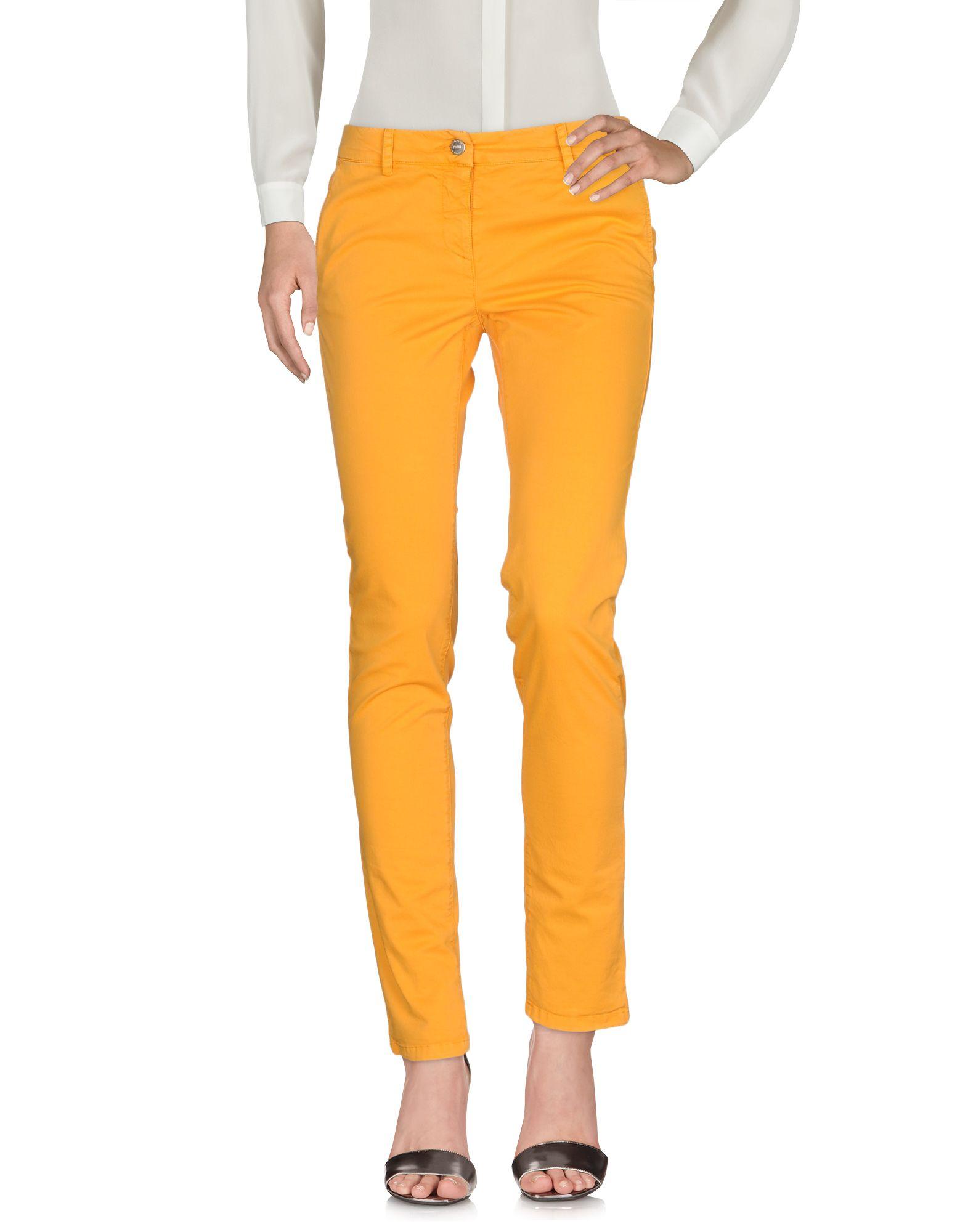 《セール開催中》DONNAVVENTURA by ALVIERO MARTINI 1a CLASSE レディース パンツ オレンジ 40 コットン 97% / テンセル 3%