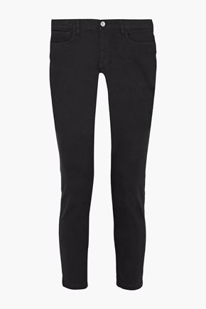 A.P.C. Cropped low-rise skinny jeans