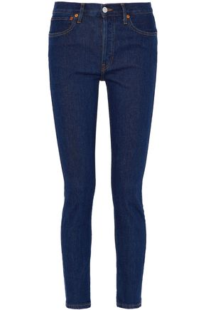 RE/DONE Mid-rise slim-leg jeans