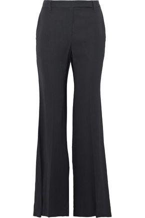 BRUNELLO CUCINELLI Crepe wide-leg pants