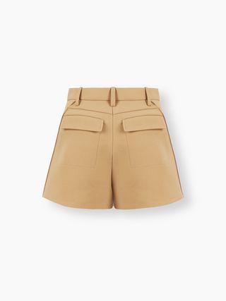 High-rise shorts