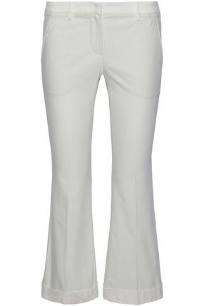 BRUNELLO CUCINELLI Cotton-blend kick-flare pants