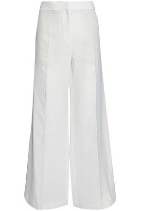 BRUNELLO CUCINELLI Bead and sequin-appliquéd cotton-blend ponte blazer
