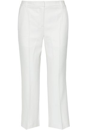 Cropped Twill Straight Leg Pants by T By Alexander Wang