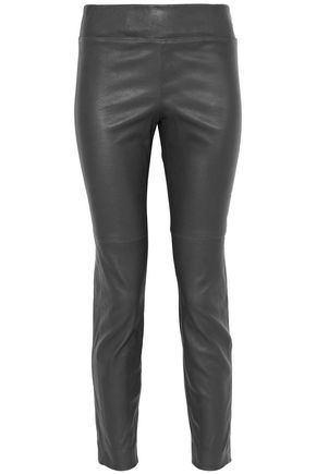 BRUNELLO CUCINELLI Leather leggings