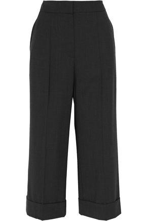 BRUNELLO CUCINELLI Cropped wool-blend wide-leg pants