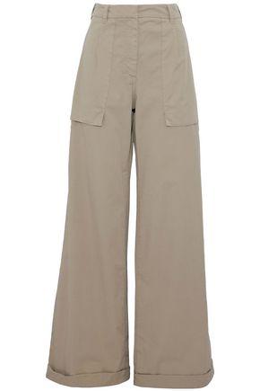 BRUNELLO CUCINELLI Twill wide-leg pants