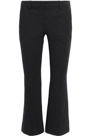 BRUNELLO CUCINELLI Cotton-blend ponte kick-flare pants