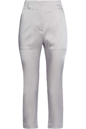 BRUNELLO CUCINELLI Satin tapered pants