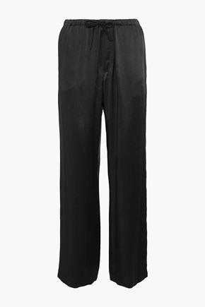BRUNELLO CUCINELLI Satin wide-leg pants