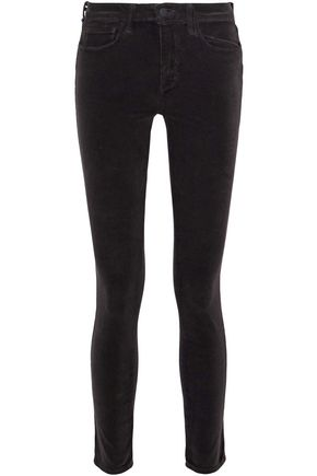 L'AGENCE Cotton-blend corduroy skinny pants