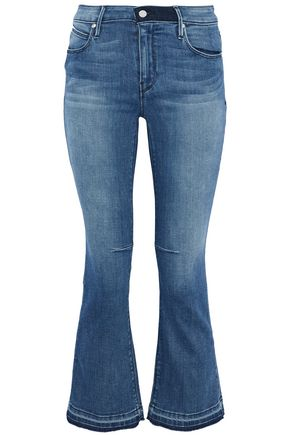 RTA Kiki faded kick-flare jeans