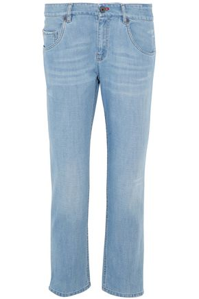 BRUNELLO CUCINELLI Distressed boyfriend jeans