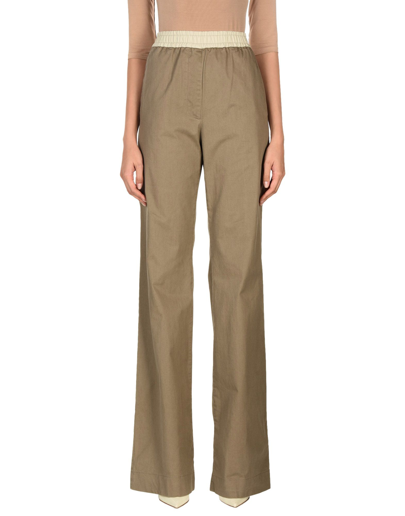ANDREA INCONTRI Casual Pants in Khaki