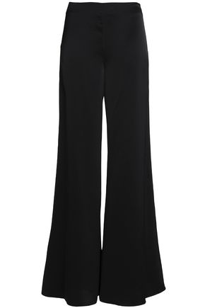 CO Satin wide-leg pants