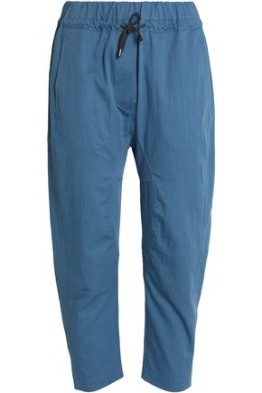 BRUNELLO CUCINELLI Cotton-twill straight-leg pants