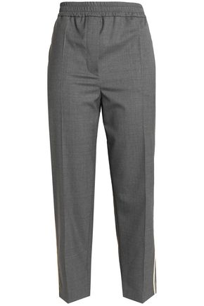 BRUNELLO CUCINELLI Wool straight-leg pants