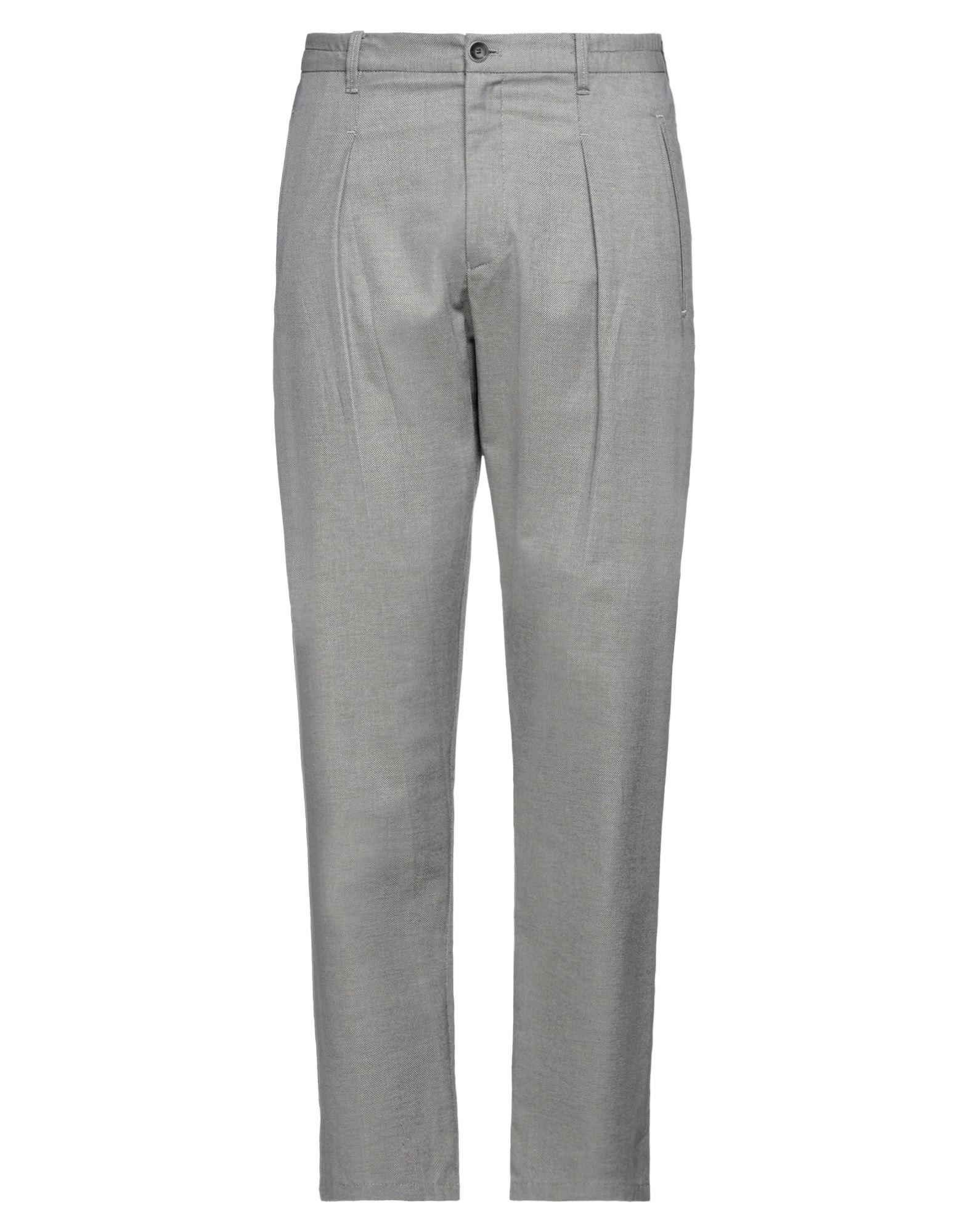 Armani Collezioni Casual Pants In Neutrals