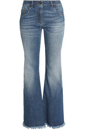 BRUNELLO CUCINELLI Faded flared jeans