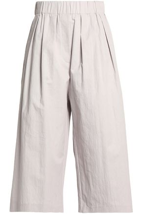 BRUNELLO CUCINELLI Cotton-blend culottes