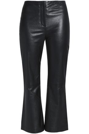 McQ Alexander McQueen Leather culottes
