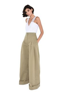 ALBERTA FERRETTI Safari culottes PANTS Woman f