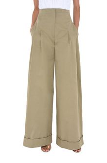 ALBERTA FERRETTI Safari culottes PANTS Woman r