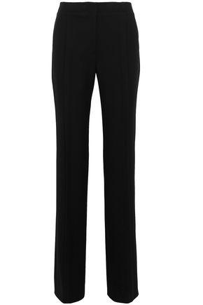 JASON WU Pleated washed-crepe straight-leg pants