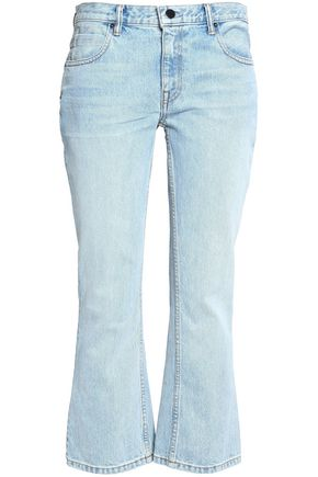 ALEXANDER WANG Mid-rise flared jeans