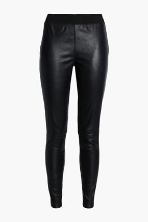 MUUBAA Cowley stretch-leather leggings