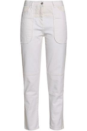 BELSTAFF High-rise slim-leg jeans