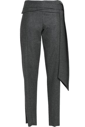 CHALAYAN Wool tapered pants