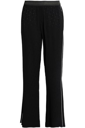 JUST CAVALLI Jacquard straight-leg pants