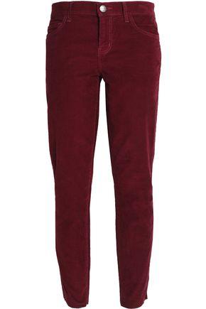 CURRENT/ELLIOTT Corduroy slim-leg pants