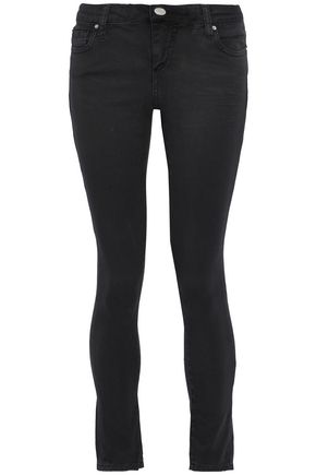 IRO Cropped low-rise skinny jeans
