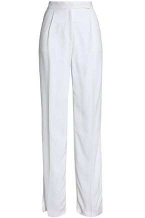 AMANDA WAKELEY Crepe straight-leg pants