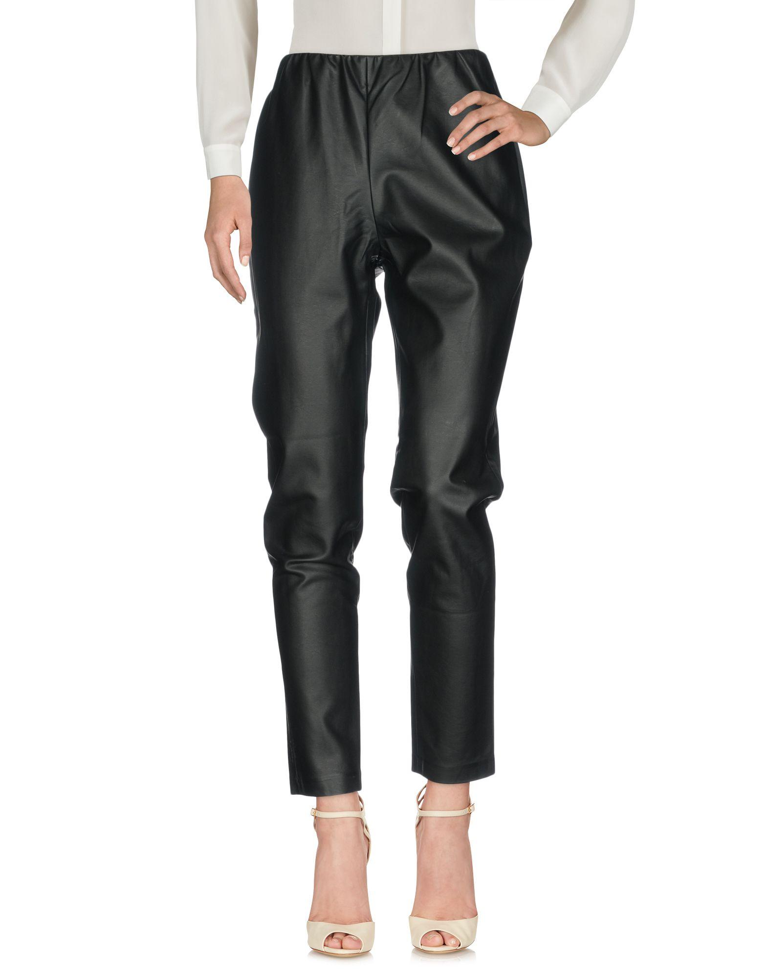 JIJIL Casual Pants in Black