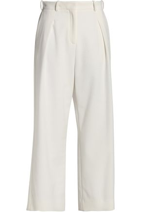 MAJE Crepe wide-leg pants