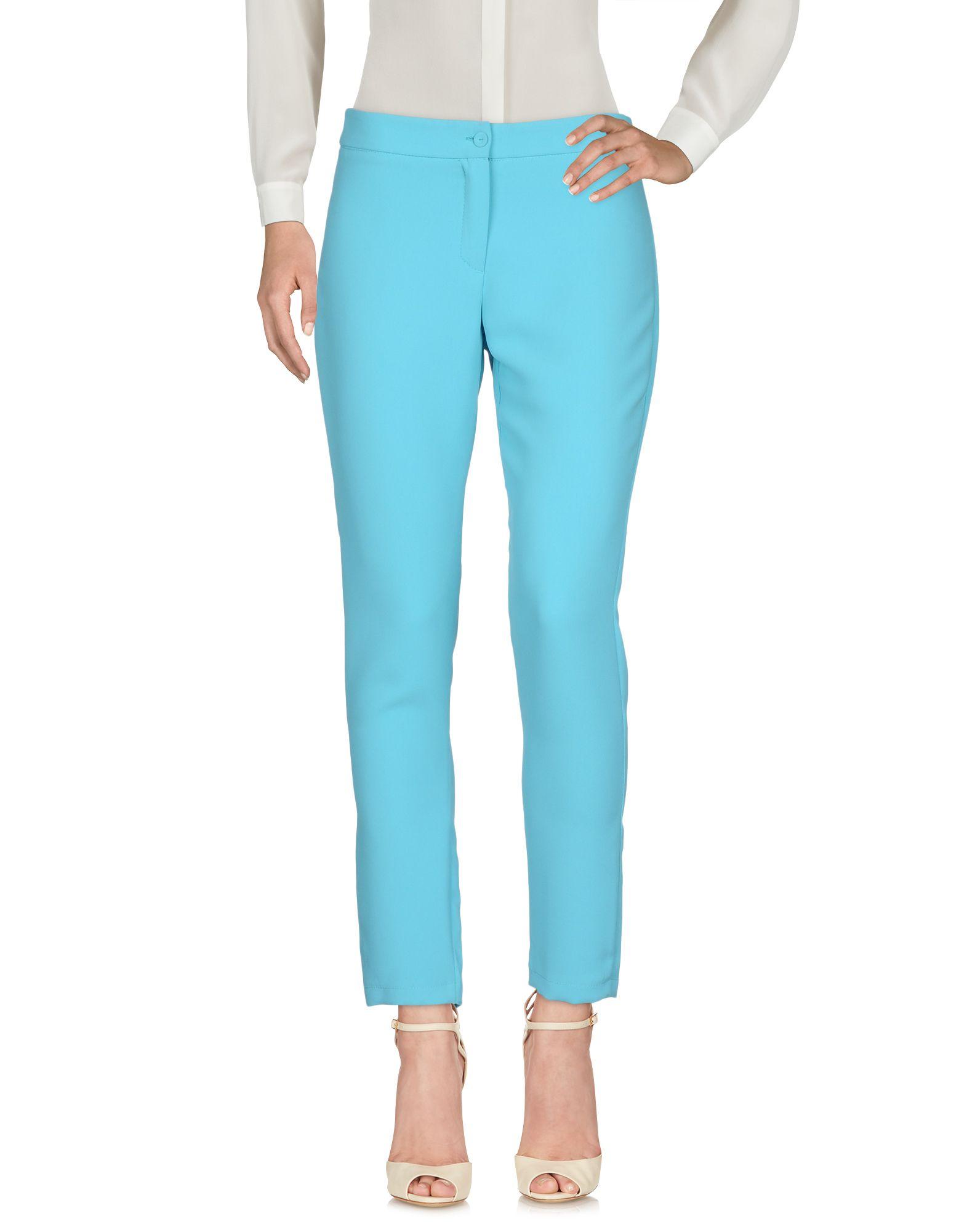 MANUELA RIVA Повседневные брюки riva 9101 ultraviolet