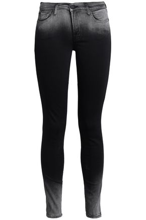 7 FOR ALL MANKIND Dégradé mid-rise skinny jeans