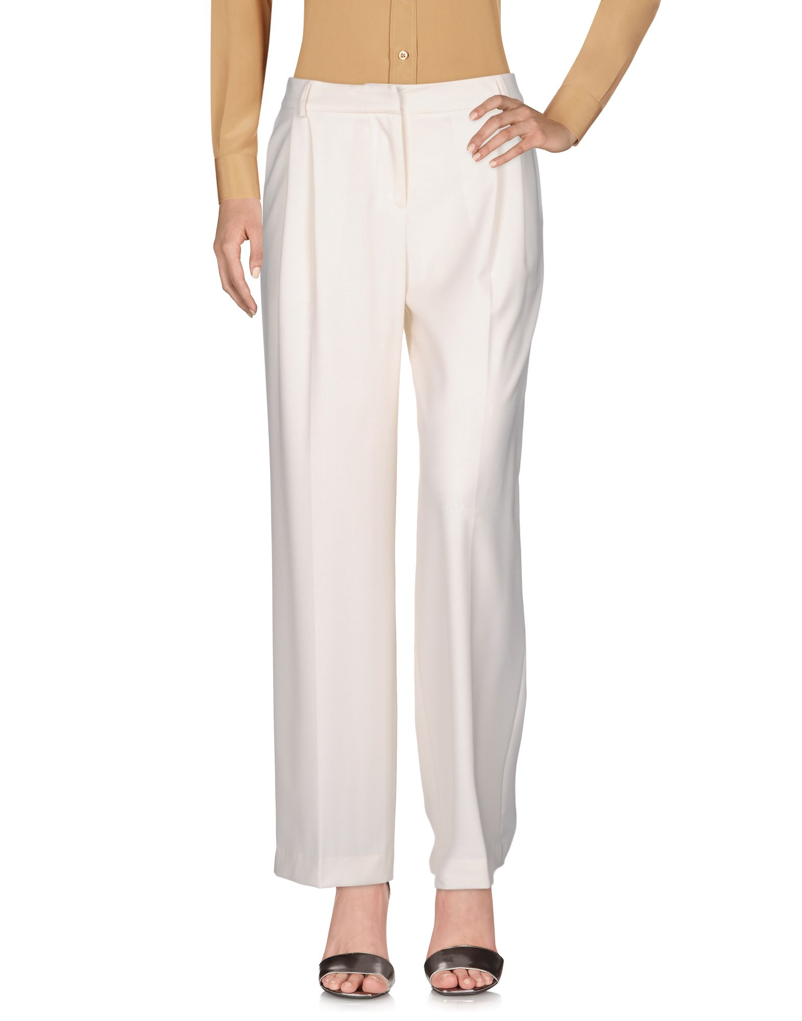 ALESSANDRO DELL'ACQUA Casual Pants in Ivory