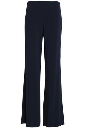 DIANE VON FURSTENBERG Crepe-satin wide-leg pants