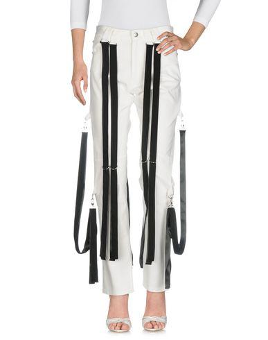 NICOPANDA Pantalon en jean femme