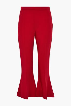 ANTONIO BERARDI Cropped cady flared pants