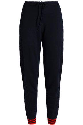 CHINTI AND PARKER Merino wool and cashmere-blend tapered pants