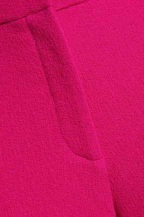 OSCAR DE LA RENTA Virgin wool slim-leg pants
