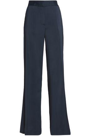 OSCAR DE LA RENTA Cady wide-leg pants